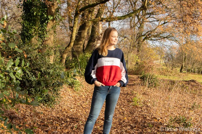 outfit oversized truien weer 1