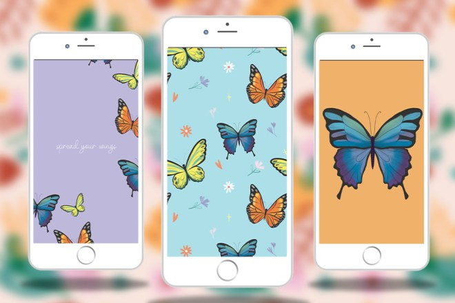 achtergronden vlinders