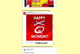 Q Monday voor Q-music, op De Beste Social Media