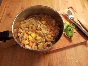 Köögivilja-rukkimakaronisupp