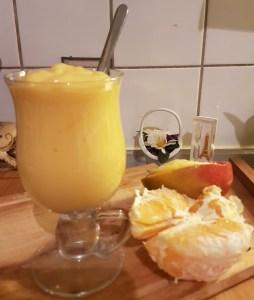 Mango-apelsinismoothie