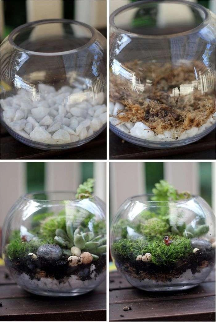 How To Make A Fairy Garden Terrarium
