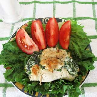 Stuffed Chicken with Spinach & Cream Cheese