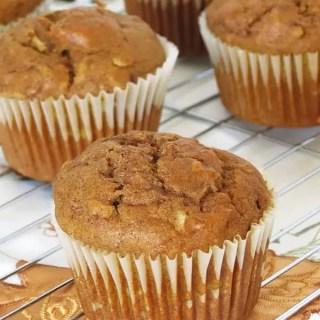 Cinnamon Pumpkin Apple Muffins