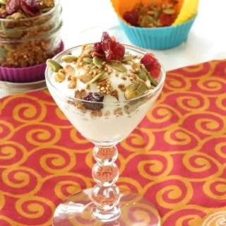 Pistachio Quinoa and Cranberry Granola