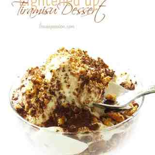 Lightened Up Tiramisu Dessert
