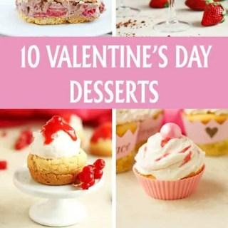 10 Valentine's Day Desserts