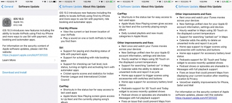 New in iOS 7 For iPad, iPhone + iPod touch: Details