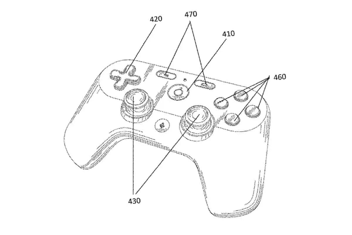 Google Patents Their Version of A Gaming Controller; Here