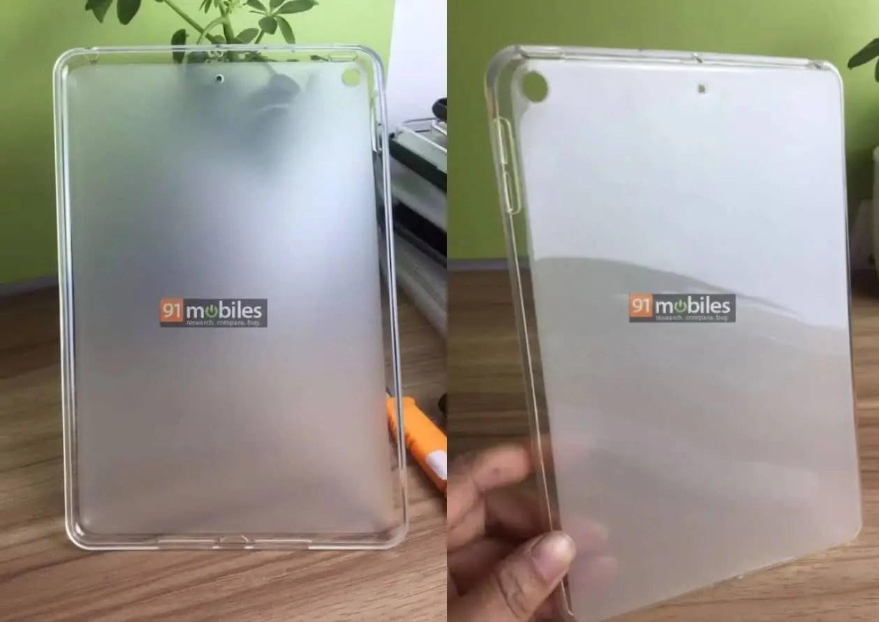 iPad mini 5 Case Leak Shows a Few Upgrades in Design