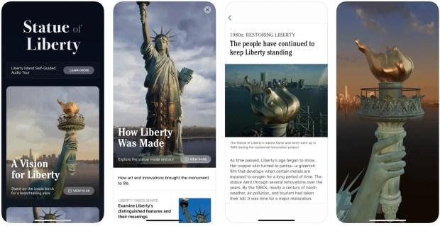 Statue of Liberty App