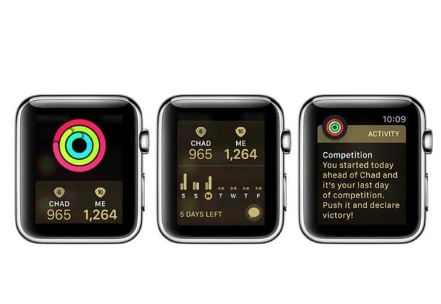 Activity Challenge Apple Watch