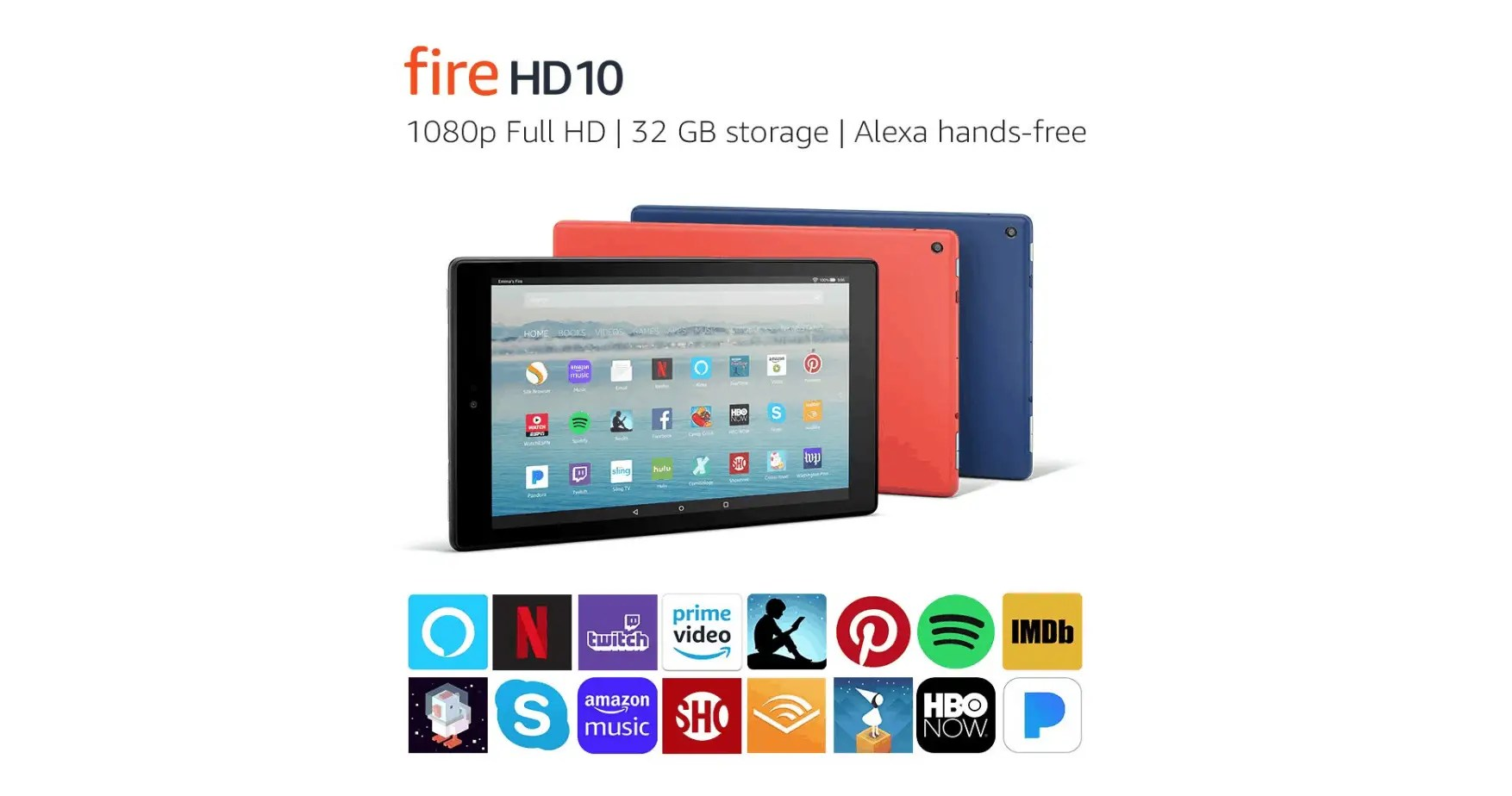 Amazon Fire HD 10 Tablet is Now Only $100