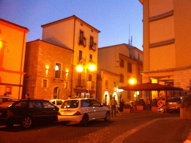 centrum města Potenza