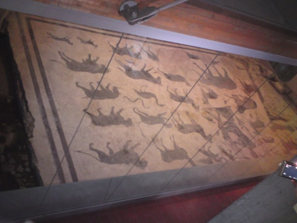 mozaika etrusků - Perugia