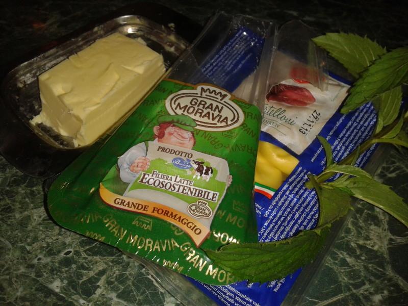 ingredience vaření