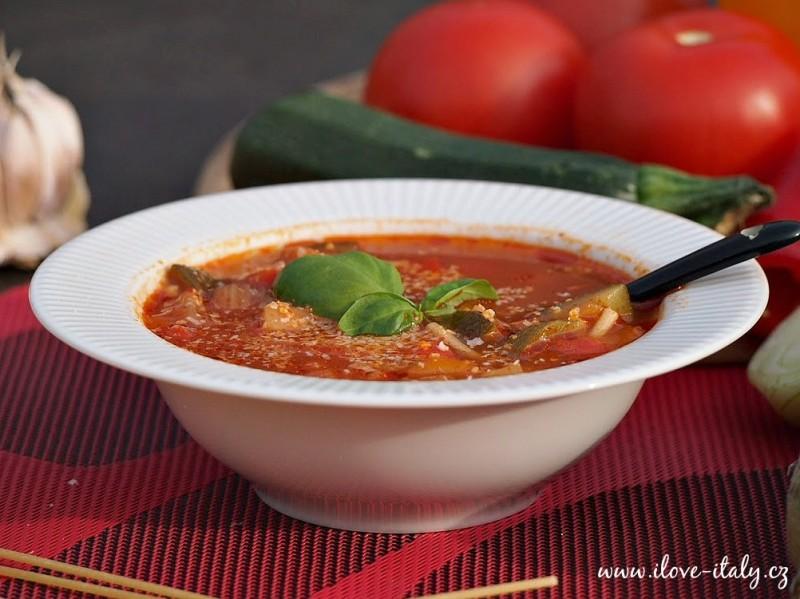 italské minestrone