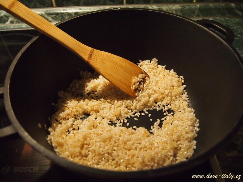 italská rýže rizoto