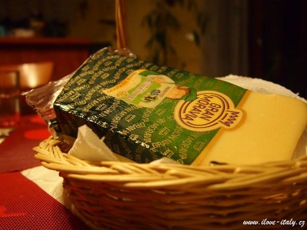 nesmí chybět ani sýr Gran Moravia