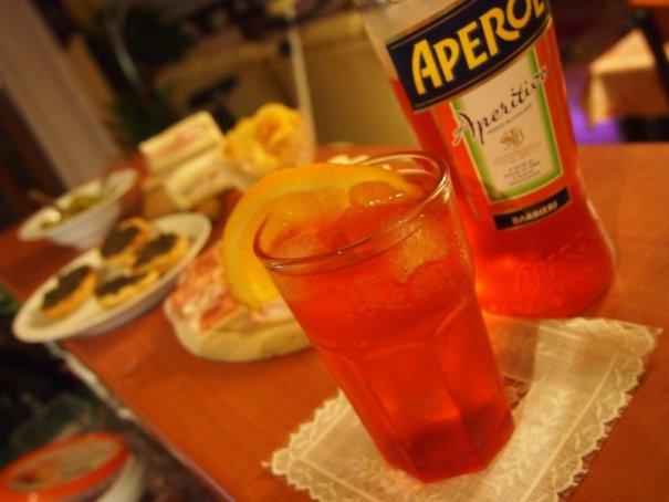 aperitiv v itálii