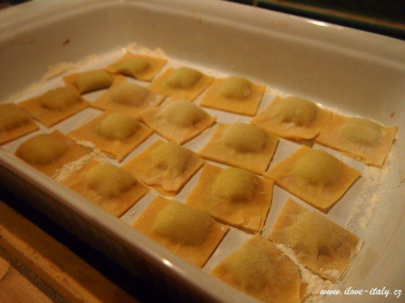 ravioli domácí italské