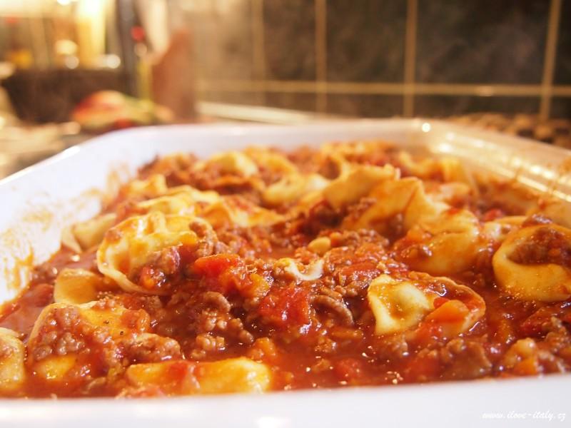 těstoviny tortellini