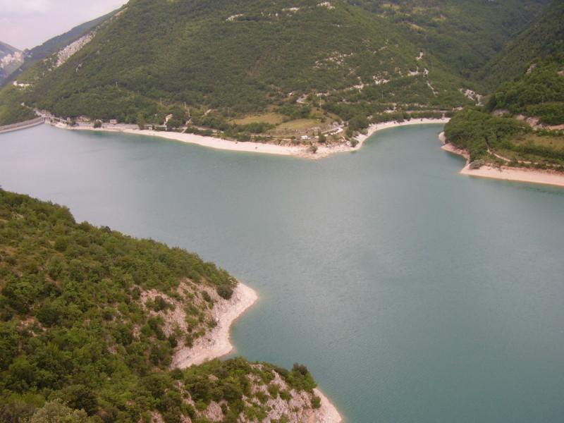 lago corbara umbrie itálie