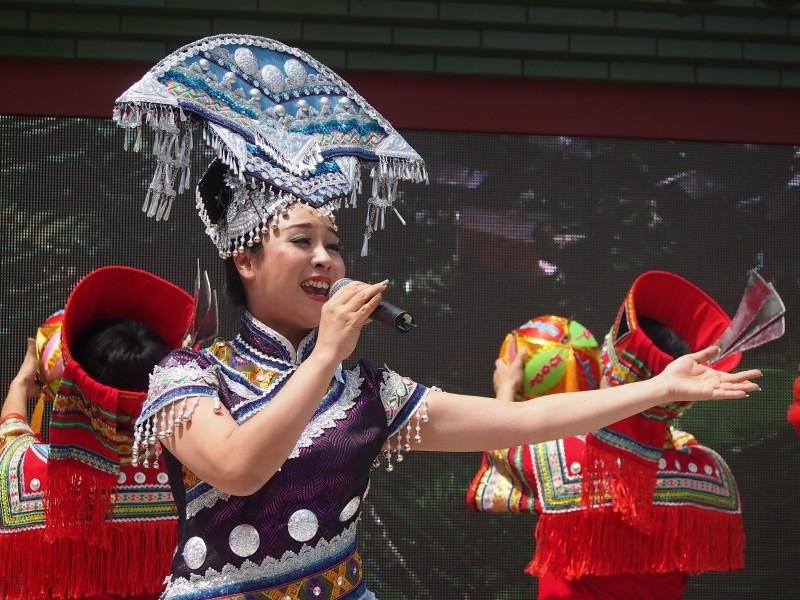 čínská zpěvačka expo