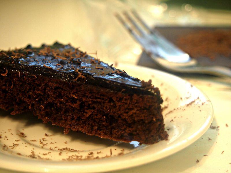 čokoládový dort italský
