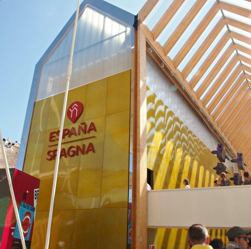 španělský pavilon expo