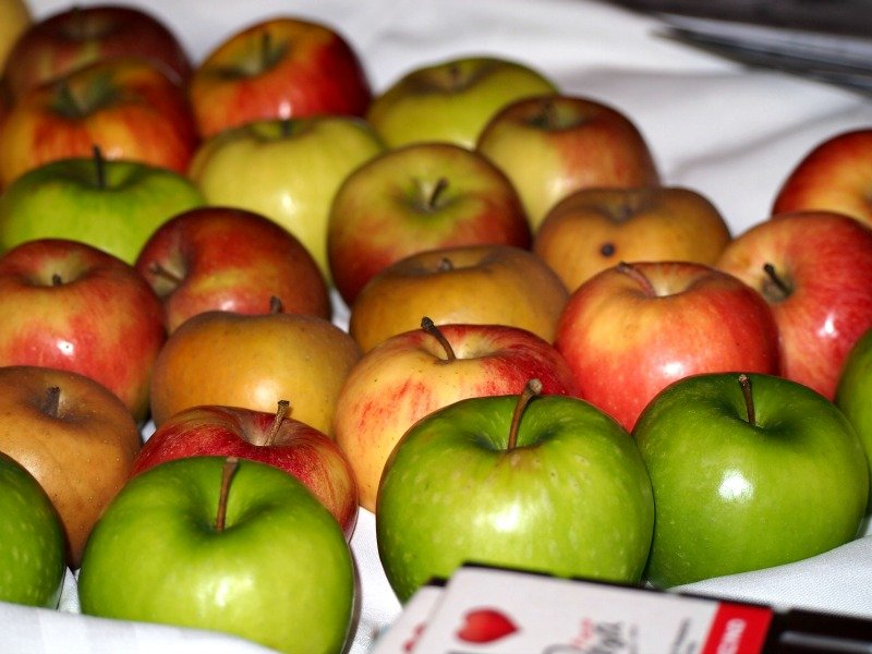 vyhlášená jablka