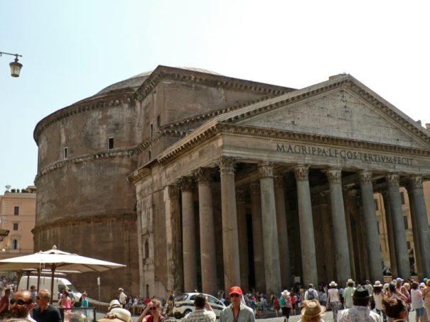 řím pantheon