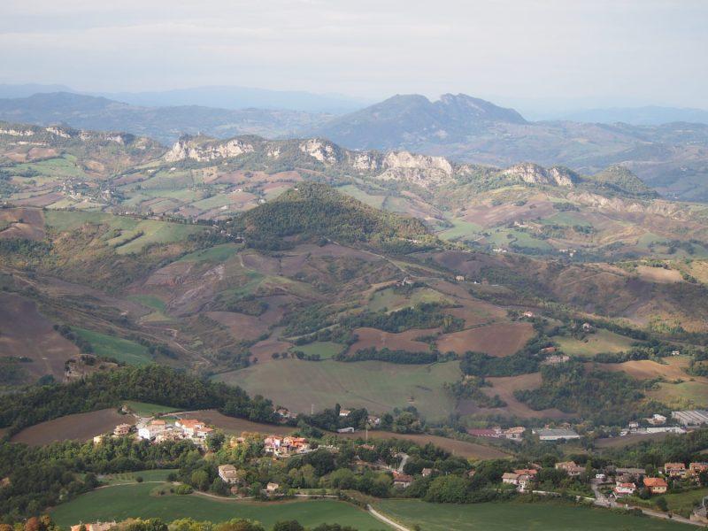 výhled san marino