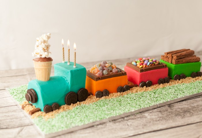 How To Make A Train Cake Ilovecooking