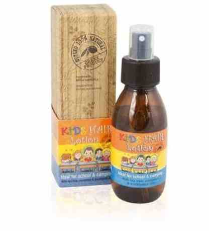 100% Natural Kids Hair Lotion 100ml. - www.ilovecrete.eu