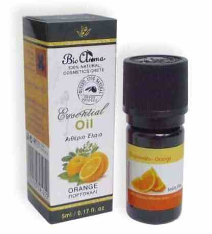 Orange essential oil 5ml, For at home aromatherapy. - www.ilovecrete.eu
