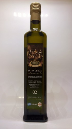 Lyrakis olive oil 500ml.