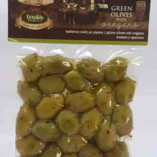 olives with oregano.