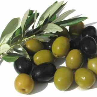 Olives and olive paste.