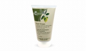 Relaxing cream for feet and heels. - www.ilovecrete.eu