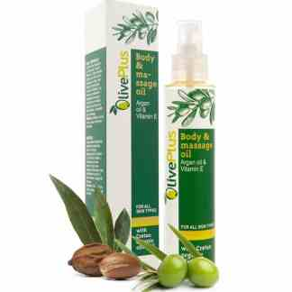 body massage oil, oliveplus