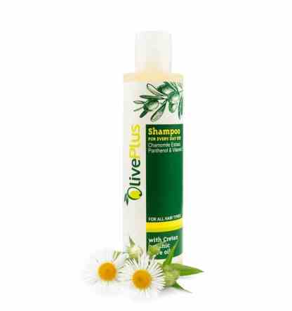 Shampoo with Chamomile extract for every day use. - www.ilovecrete.eu