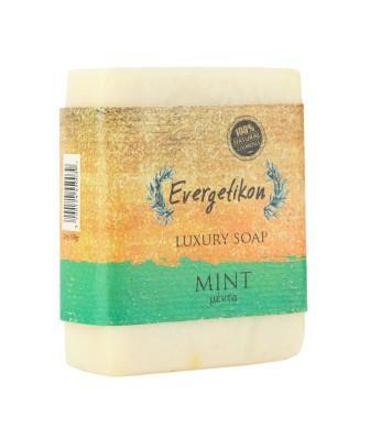 100% natural, high quality, soap with cretan extra virgin olive oil and Mint.