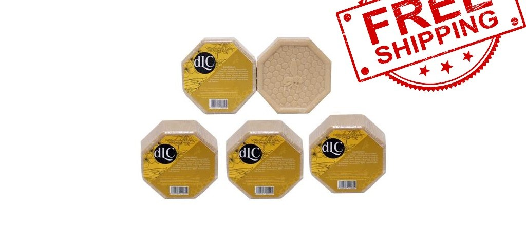 5 pack olive honey soap incl worldwide free shipping