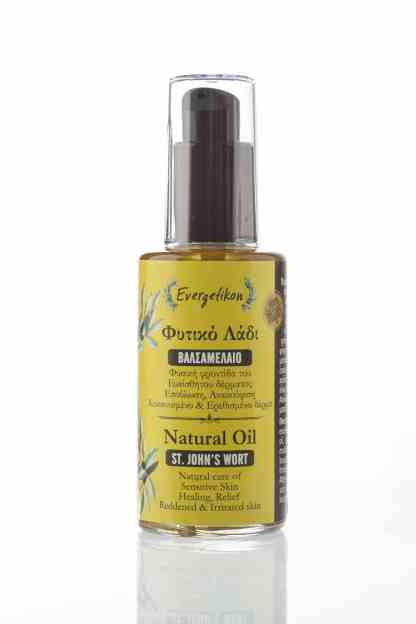 Natural oil St. John's Wort or also called St. John's oil or St. John's wort oil.