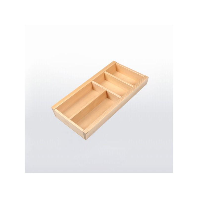 range couverts bois pour tiroir de 300 mm de large