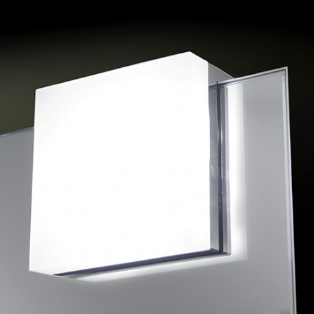 Luminaire Led Carre Pour Miroir De Salle De Bain Nexio