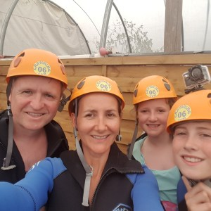 I Love Edinburgh Tours Family - Canyoning in France