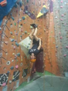 Rock Climbing at Alien Rock