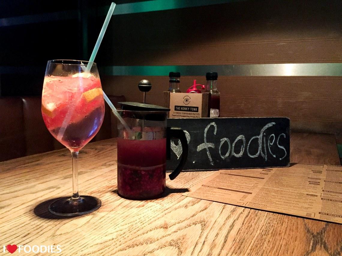 Hudsons cocktails